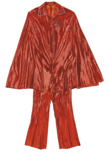 james brown red suit