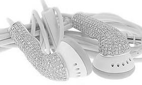 diamond earbuds
