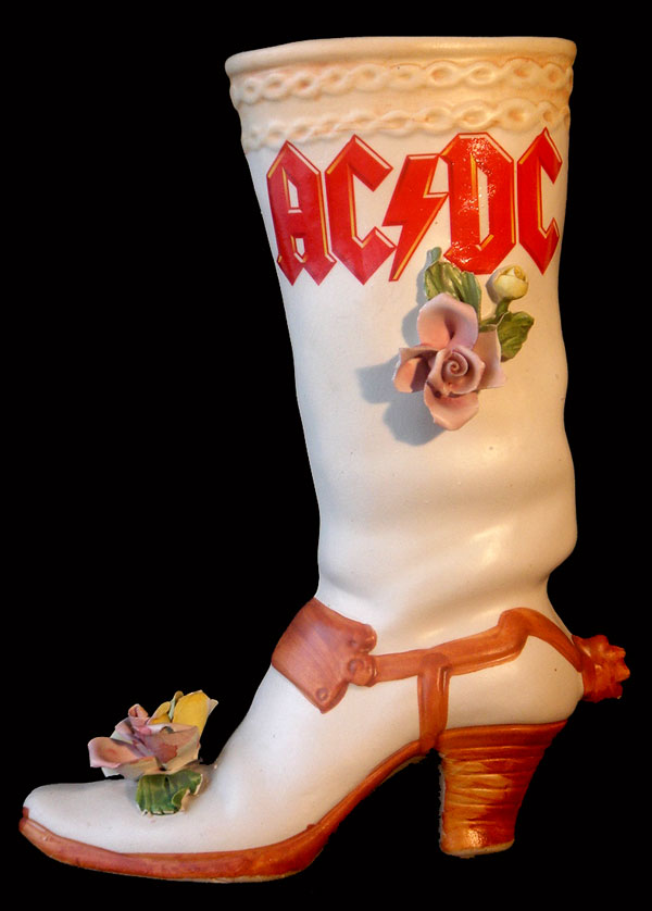 hard rock vase