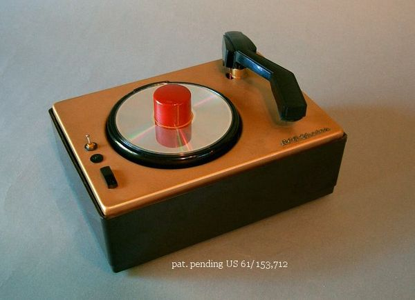 CD turntable