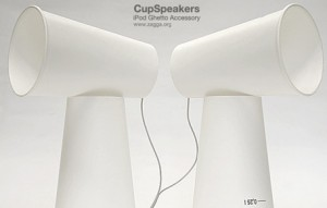 cup speakers