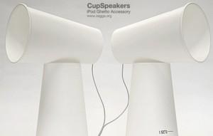 cup speakers