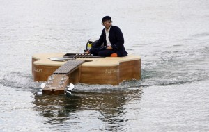 custom guitar boat