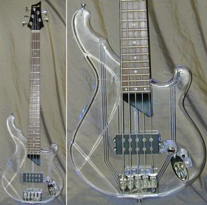 custom guitar crystal