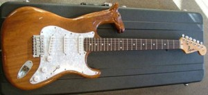 custom made guitar