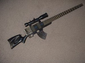 custom guitar rifle