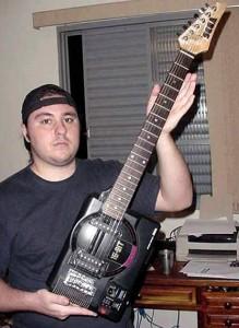 custom guitar sega genesis