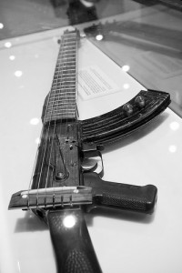 custom made guitar gun