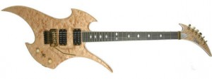 custom guitar rockingbird