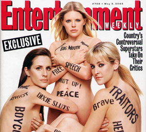 dixie chicks speak against bush