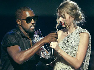 Kanye West Interrupts Taylor Swift on Kanye West Interrupts Taylor Swift