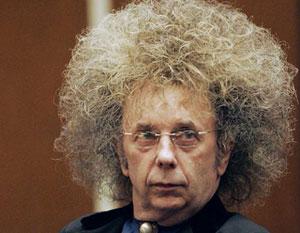 phil spector crazy hairdo