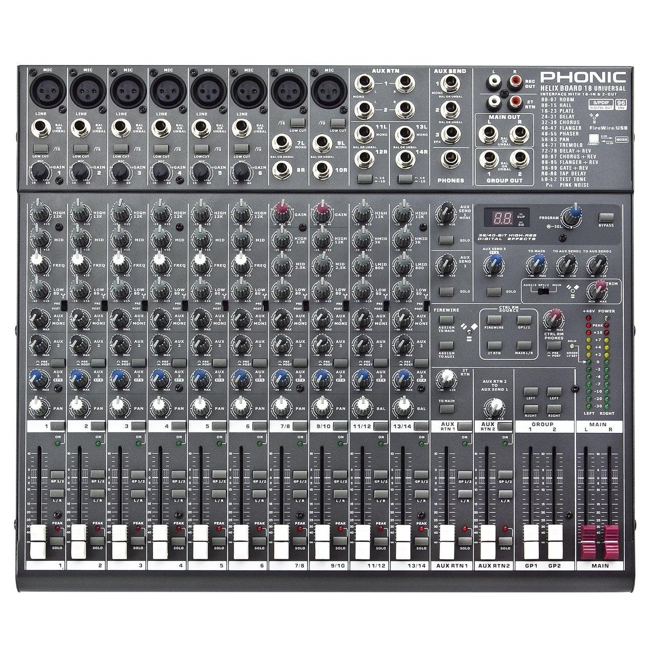 universal mixer musical instrument