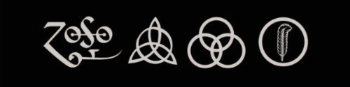 led zeppelin logos