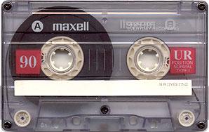 maxell casette tape