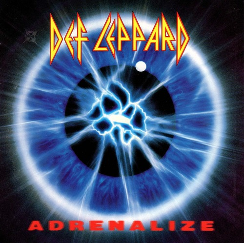 music album by def leppard titled adrenalize