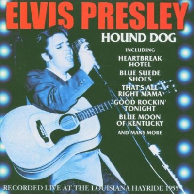 music album elvis presley with song hound dog