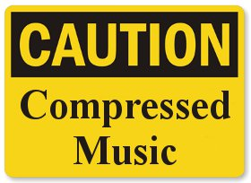 compressed music
