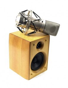 speaker and recording equipment