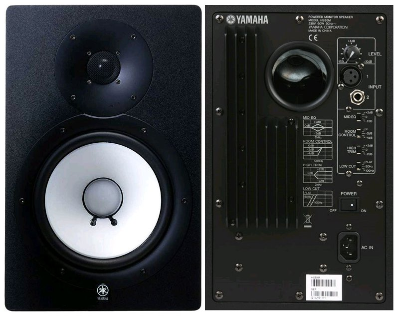 Yamaha hs80m reference monitors review for Yamaha hs80m specs